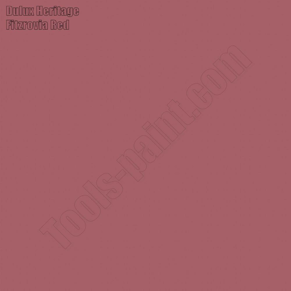 Dulux Heritage Fitzrovia Red
